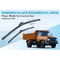 Buy cheap Cleaning Japanese Cars Truck Windshield Wiper Blades In Black from wholesalers