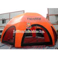 Buy cheap UV Resistant Outdoor Inflatable Tent / Inflatable Lawn Tent For Promotion Activities from wholesalers