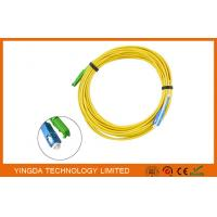 Buy cheap E2000 APC to SC UPC Fiber Optic Patch Cord  Singlemode Simplex 1.8mm LSZH Riser Cable from wholesalers