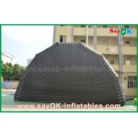 Buy cheap Black Customized Inflatable Air Tent Stage Show Large Event Tent With Led Light from wholesalers