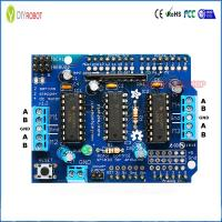 Buy cheap L293D Motor Shield for Arduino Control Module DC Stepper Motor Driver Expansion Board from wholesalers