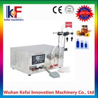 Buy cheap factory price semi automatic liquid milk glass bottle magnetic pump filling machine with factory made in china from wholesalers