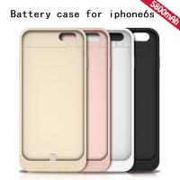 Buy cheap new design mobile phone Battery charger case for mobile phone 5800mah for Iphone 6/6s from wholesalers