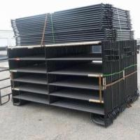 Buy cheap Black Painted Corral Horse Panel from wholesalers