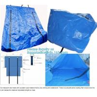 Buy cheap STRONG SEWING BLUE COATING WATERPROOF PE MATTRESS COVERS,REINFORCED PORTABLE MULTI-PURPOSE POLYTHYLENE TARPAULIN, NYLON from wholesalers
