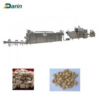 Buy cheap Stainless Steel Soy Histone Food Extruder Machine , Twin Screw Extruder Line from wholesalers