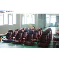 Buy cheap Flat / Arc / Circular / Globular Screen 5D Cinema System With Motion Theater Chair product