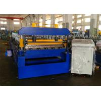 Buy cheap Quick Change Roofing Sheet Roll Forming Machine, Rafted Type Metal Roofing Rollforming Machine from wholesalers