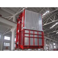 Buy cheap OEM Red Construction Hoist Parts Building Lifter Single Elevator Cage for Oil Fields from wholesalers