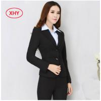 Buy cheap Fashion Slim Fit Corporate Office Uniform Formal Business Work Clothes For Women from wholesalers