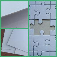 Buy cheap Recycled material paper board hard smooth surface grey board for book binding product