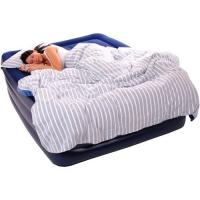 Buy cheap 0.55mm PVC Inflatable Air Beds Double Flocking For Camping from wholesalers