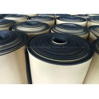 Buy cheap Black  Rubber Foam Insulating Roll High Density Adhesive 10mm Thermal Resistant from wholesalers