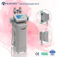 Buy cheap Vertical vacuum cavitation system frozen slimming equipment fat frezze cryolipolysis body contouring machine for sale from wholesalers