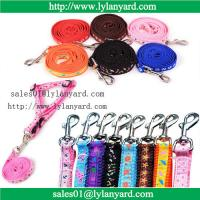 Buy cheap Pet Dog Nylon Leash Small Large Dog Rope Teddy Chest Rope Harness from wholesalers