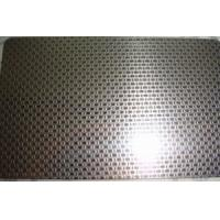 Buy cheap SS 316L Grade Etching Stainless Steel Sheet Metal With Surface Linen Pattern from wholesalers