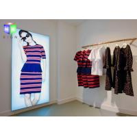 Buy cheap Fabric Poster Window Poster Holders , Frameless LED Light Box Wall Mounted from wholesalers