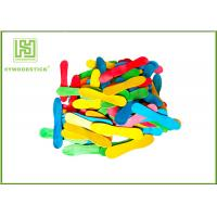 Buy cheap Colorful Wooden Craft Sticks Kids DIY Tools With FSC Certificated from wholesalers