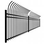 Buy cheap Security 1.8m 2.1m Welded Ornamental Steel Picket Fence from wholesalers