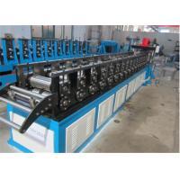Fire Damper Roller Shutter Door Roll Forming Machine8-10m/min Hydraulic Type