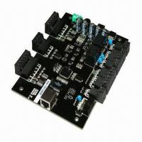 Buy cheap TCP/IP Access Control Board with 10,000 Cards, 30,000 Records, Web Base Software for 1 Door/2 Reader from wholesalers