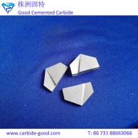 Buy cheap YG15 K20 P30 cemented carbide brazed tips&tungsten carbide cutting tips from wholesalers