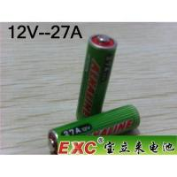 Buy cheap EXC 12V-27A Alkaline Battery product