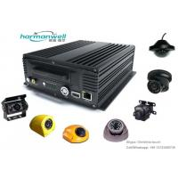 Quality 4ch 720P AHD HDD Mobile DVR System for Vehicle Video Surveillance GPS/3G/4G/WIFI Optional for sale