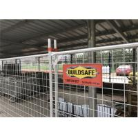 Buy cheap Temporary fencing panels 2100mm x 2400mm 14 microns zinc layer hot dipped galvanized from wholesalers
