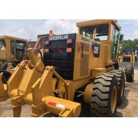 Buy cheap Yellow Used Cat 140h Grader Japan Made Good Condition With 21000kg Operate Weight from wholesalers