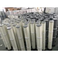 Buy cheap FILTERK Supply Industrial Polyester Pleated Dust Cartridge Pulse Dust Filter Bag from wholesalers