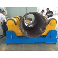 Buy cheap 1.5 KW Variable Speed Self Aligning Rotator 40+ Ton Loading Capaicty from wholesalers