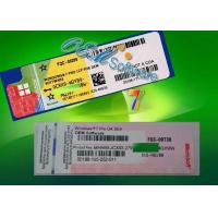 Buy cheap Fast Delivery Windows 7 Coa Sticker Label X20 / X16 Blue With Oem Product Key product