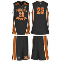 Buy cheap Gray Basketball Customized Jersey Breathable Sublimated Basketball Suit For High School from wholesalers