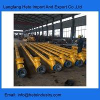 Buy cheap Cement silo 168mm cement screw conveyor for concrete batching plant from wholesalers