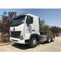 Buy cheap HOWO A7 420 HP 6X4 Tractor Trailer Truck / Diesel Tractor Truck HF7 Front Axle from wholesalers
