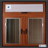 Buy cheap Hot! aluminium window manufacturer, wood color aluminum profile for sliding window from wholesalers