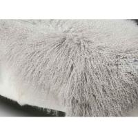 Curly Long Haired Rectangular Sheepskin Rug , Home Style Lambskin Rug 120*60cm