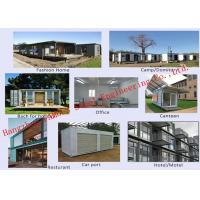 Buy cheap Modern Environmental Foldable Prefab Container House Multi-functional Mobile House Easy Assemble from wholesalers