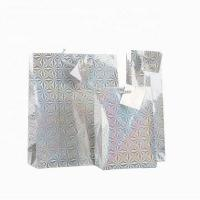 Buy cheap Unique Design Holographic Paper Shopping Bags / Paper Carrier Bags Hot - Stamp from wholesalers