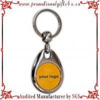 Buy cheap Trolley Coin, Metal Trolley Coin keyring from wholesalers