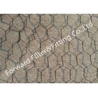 Buy cheap Iron / stainless steel hexagonal wire netting for protecting mesh fence , Length Customized from wholesalers