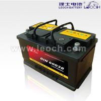 Buy cheap LEOCH Lead Acid Car Battery With 100AH Capacity from wholesalers