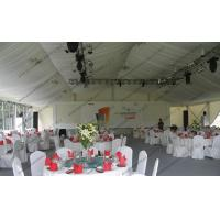 Buy cheap Huge Event Party Tent With Glass Sidewalls PVC Roof Cover and Inside Direction for Outside Car Sho Ceremonys from wholesalers