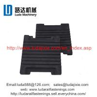 Buy cheap railway rubber sheet P60 IIIb elastic rail pad used under the P60 rail from wholesalers