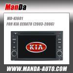 Buy cheap Manda car dvd gps for Kia Cerato OEM stereo radio GPS navigation DVD player TV from wholesalers