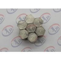 Iron Hexagonal Nut Machining Small Metal Parts With M3 Internal Thread