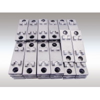 Buy cheap Rail Transit casting parts , iron castings , backing plate, bearing plate for railway from wholesalers