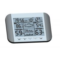 Buy cheap High quality Wireless Digital LCD Pressure Gauge Weather Station temperature humidity meter with Clock date MS6142 from wholesalers