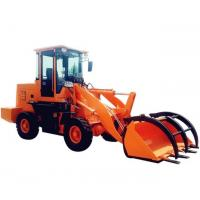 Buy cheap CE Approved New Design Grasping Wood/Log/ Grass Machine Wheel Loader For Sale product